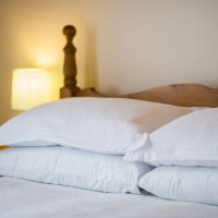 Fresh good quality bedding to ensure a good sleep for all