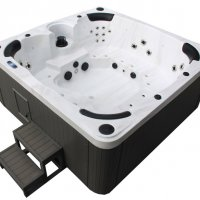 Our fabulous 7 seater Spa Hot Tub.